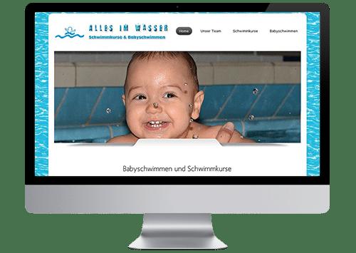 Foto Website Alles im Wasser