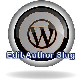 Edit Author Slug