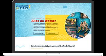 Alles im Wasser - Webdesign